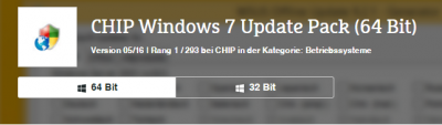 CHIP Windows 7 Update Pack (64 Bit)